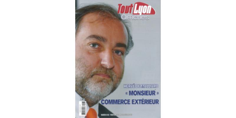"Hervé de Malliard, CEO of MGA Tech: ""The foreign trade leader"" in Rhône-Alpes region"