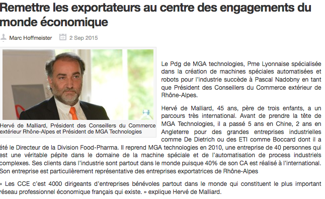 """MGA CEO Interview: """"put back explorers center of participation in the economic world"""""""