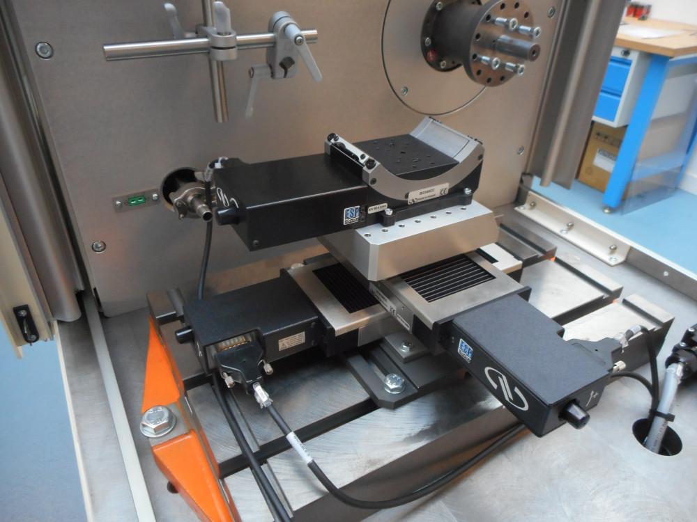 High Speed Rotation Hall Effect Sensor Test Bench