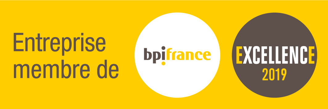 "MGA Technologies member of the ""Excellence 2019"" promotion by Bpifrance"