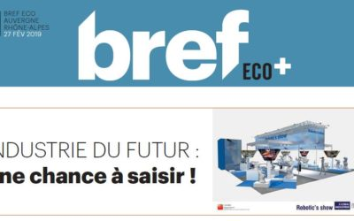 """Industry of the future and the """"Global Industrie"""" exhibition in Lyon (France)"""