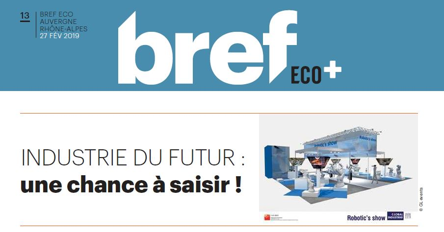 "Industry of the future and the ""Global Industrie"" exhibition in Lyon (France)"