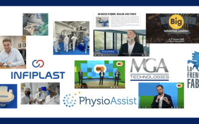 How we, MGA Technologies, collectively played with French MedTech against COVID 19