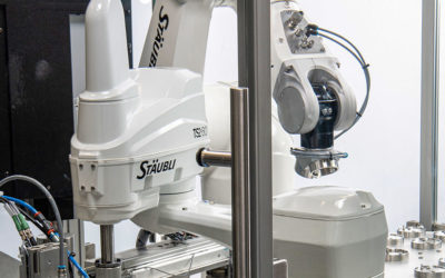 Stäubli Commits to Emergency Medical Production with MGA Technologies