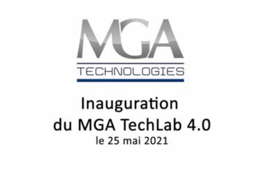 Rewind: the Inauguration of our New MGA Techlab 4.0 in Lyon area, France